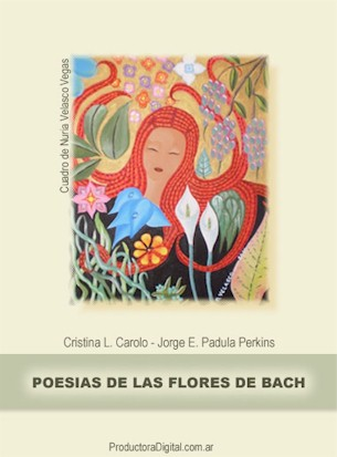 Tapa Libro de Poemas Flores de Bach
